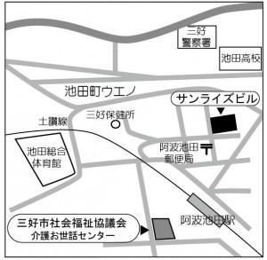 地図(池田)